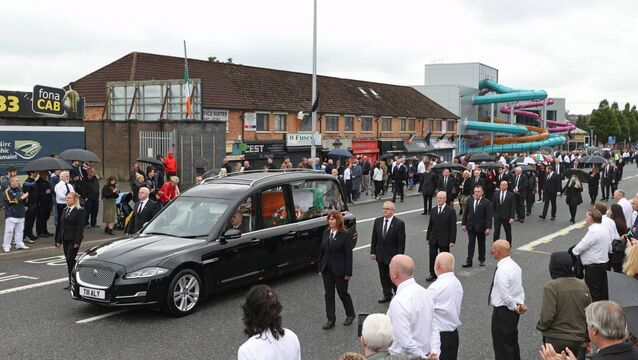 External officer to lead PSNI investigation of Bobby Storey funeral