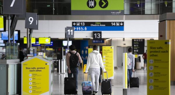 Restrictions on international travel as a result of the coronavirus could be left in place until at least July 20. Picture: Sam Boal/Rollingnews.ie