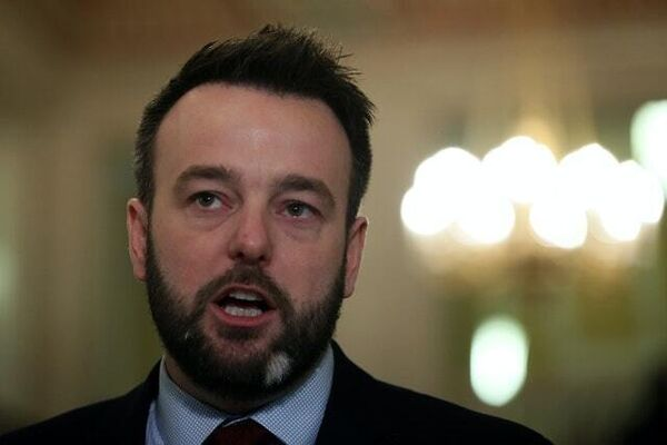 SDLP leader Colum Eastwood called for Ms O'Neill to step aside (Brian Lawless/PA)