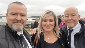 O'Neill 'will not be stepping aside under any circumstances', says Sinn Féin