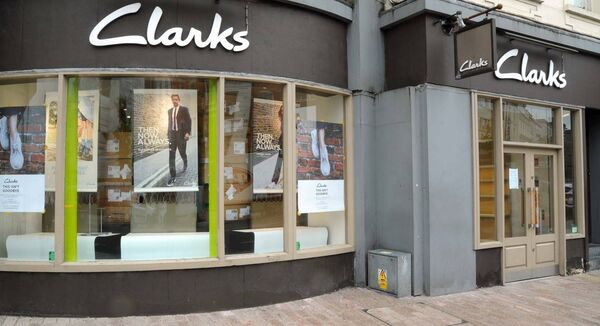 Clarks St. Patrick's Street in Cork will not reopen. Picture Denis Minihane.