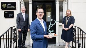 Cork Chamber is names Ireland's Chamber of the Year