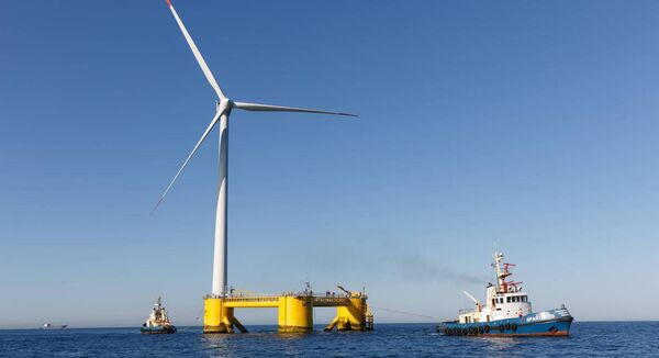 The Emerald Project could see up to 67 floating offshore wind turbines located near the Kinsale Gas Fields off the Cork coast.