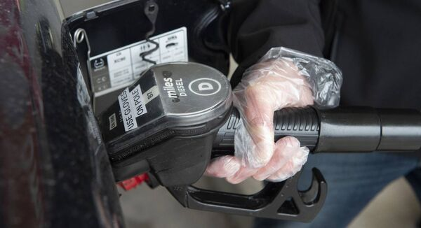 Figures show that in April, motorists bought less than half the amount of diesel purchased in April 2019. Picture Dan Linehan