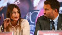 Katie Taylor's fight with Amanda Serrano could take place in Hearn's garden
