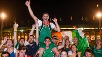 Picture Perfect: 'I'm looking at a bunch of Irish supporters with the European bronze medalist stuck on their shoulders'