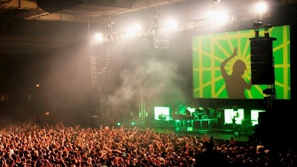 The Chemical Brothers were one of the pioneers of performing dance music in a live arena.