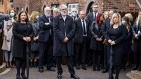 A rock and a hard place: Sinn Féin's past and future meet at Bobby Storey's funeral