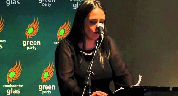 Green Party deputy leader, Catherine Martin