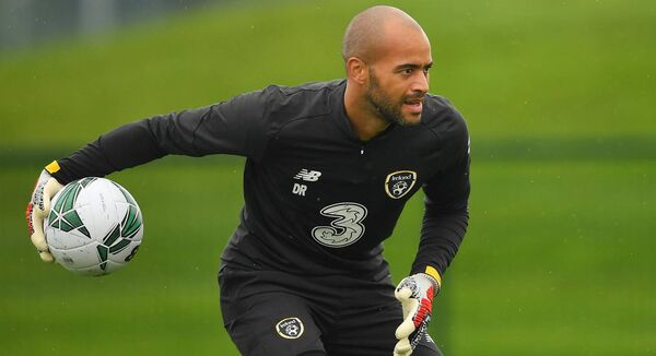 Darren Randolph said that, in his experience, racist abuse was even more prevalent in the heightened context of competitive sport. Photo by Seb Daly/Sportsfile