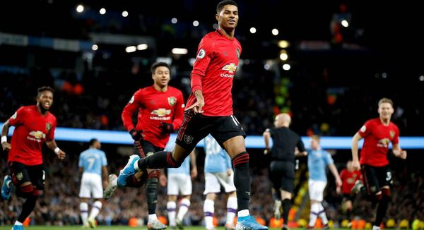 "When have you ever seen ""Manchester United to win 1-0 and Rashford to score first — 8/1"" advertised? Probably never. It is more likely to read ""Man United to win 4-1 and Rashford to score first, 33–1"". Photo: Martin Rickett/PA Wire."
