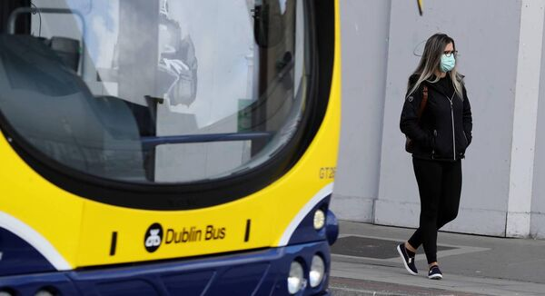 Face masks are being made compulsory on public transport. 	Picture: Brian Lawless