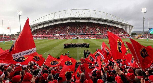 Munster attract large crowds at home games but need to diversify their income opportunities going forward post Covid-19.