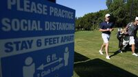 Golf back in business as Rory McIlroy seeks tolerance