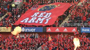 Munster fans showing support by waiving right to a refund