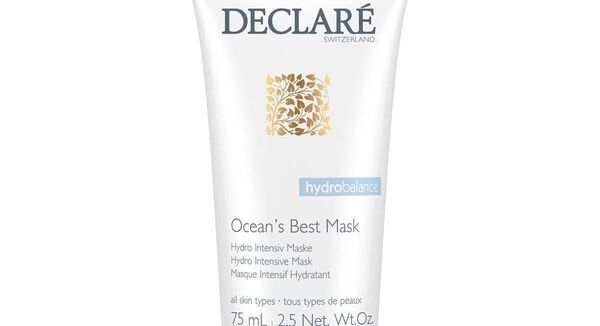 Declare Ocean's Best Hydro Mask (€29.95, theskinnerd.com, selected pharmacies)