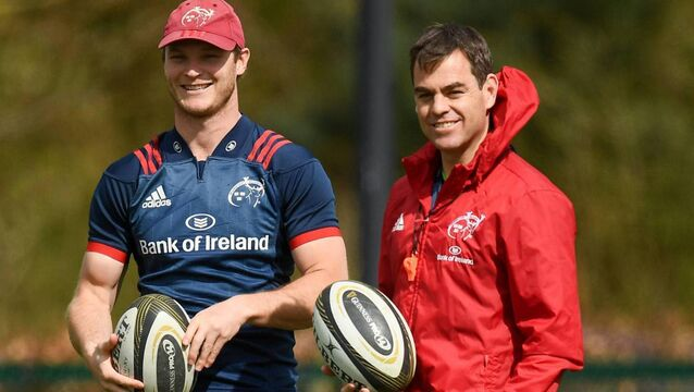 Ronan O'Gara: Have we seen the last of 'coach-in-waiting' Tyler Bleyendaal at Munster?