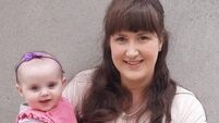 Staying safe: Cork-based mum is campaigning to extend maternity leave to protect her baby