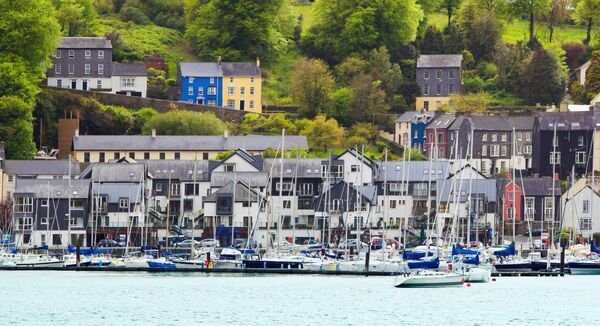 Kinsale harbour, Co Cork.