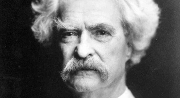 Mark Twain whose works contain racist language.