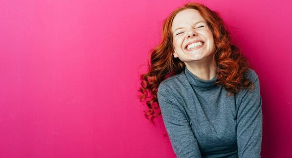 There's no shortage of benefits to laughing. Studies have shown that laughter helps to ease pain and discomfort.