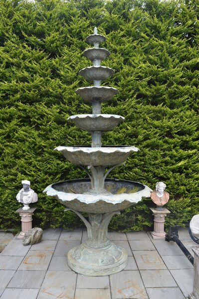 This enormous bronze fountain could be yours.