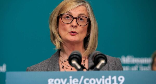 "Assistant secretary for social policy for the Taoiseach Liz Canavan confirmed the PUP is a ""taxable source of income"" during a media briefing on Covid-19. Photo:Gareth Chaney/Collins"