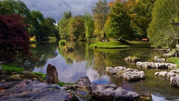 The National Stud and Japanese Gardens in Kildare is set on 800 acres of immaculately kept countryside.
