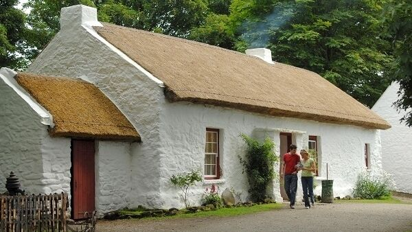 The Ulster American Folk Park is an open-air museum in Castletown, just outside Omagh, in County Tyrone, Northern Ireland.