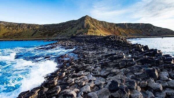 Giant's Causeway is a collection of 40,000 interlocking basalt columns dating back almost 60 million years.