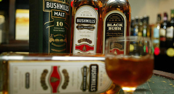 The Old Bushmills Distillery, the oldest licensed whiskey distillery in the world. Picture: Paul Faith/PA