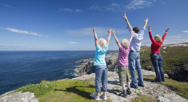 Malin Head is both the start and the end of the Wild Atlantic Way.