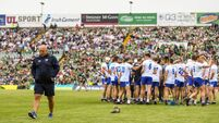 Knockout hurling will suit Waterford, says Derek McGrath