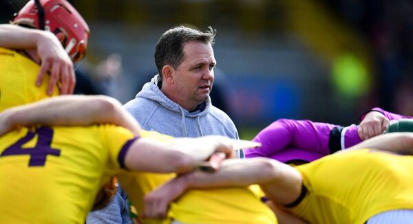 Wexford manager Davy Fitzgerald wants  the Government to tackle cyberbullying and online abuse in the form of laws. Picture: Sam Barnes/Sportsfile