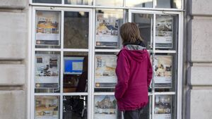 Sales prices rebound after dramatic fall in April