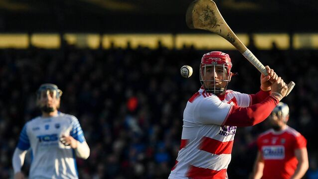 Anthony Nash of Cork during the Allianz Hurling League meeting with Waterford.  Nash reckons he started the 'white grip', not Patrick Horgan. Photo by David Fitzgerald/Sportsfile