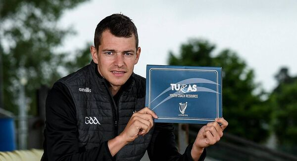 Carlow footballer Sean Gannon during the Leinster GAA TURAS Resource Launch at Netwatch Cullen Park.