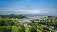 Harbour and village views from Crosshaven's Drake's Point development