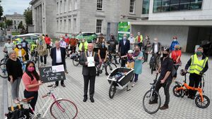 Medics take to bikes in push for cycling lanes between Cork hospitals