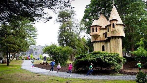 Birr Castle and Science Centre boasts one of the most fantastic playgrounds in the country.