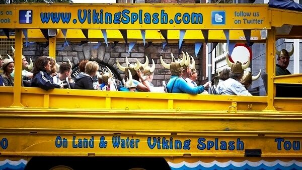 Travel around the city centre with the Viking Splash Tour learning about its history and scaring unassuming walkers with sporadic Viking roars.
