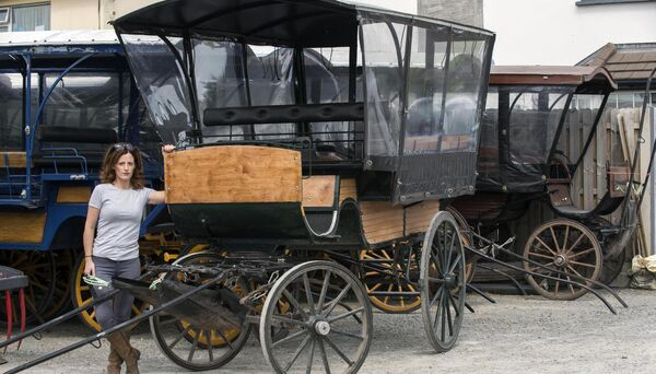 Laura Tangney, Killarney Jaunting Cars pictured in Killarney at the weekend. Picture: Don MacMonagle