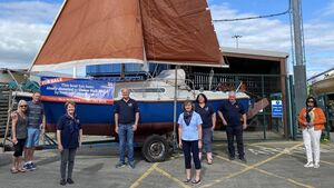 Cork couple donate wedding anniversary boat to Union Hall RNLI fundraiser