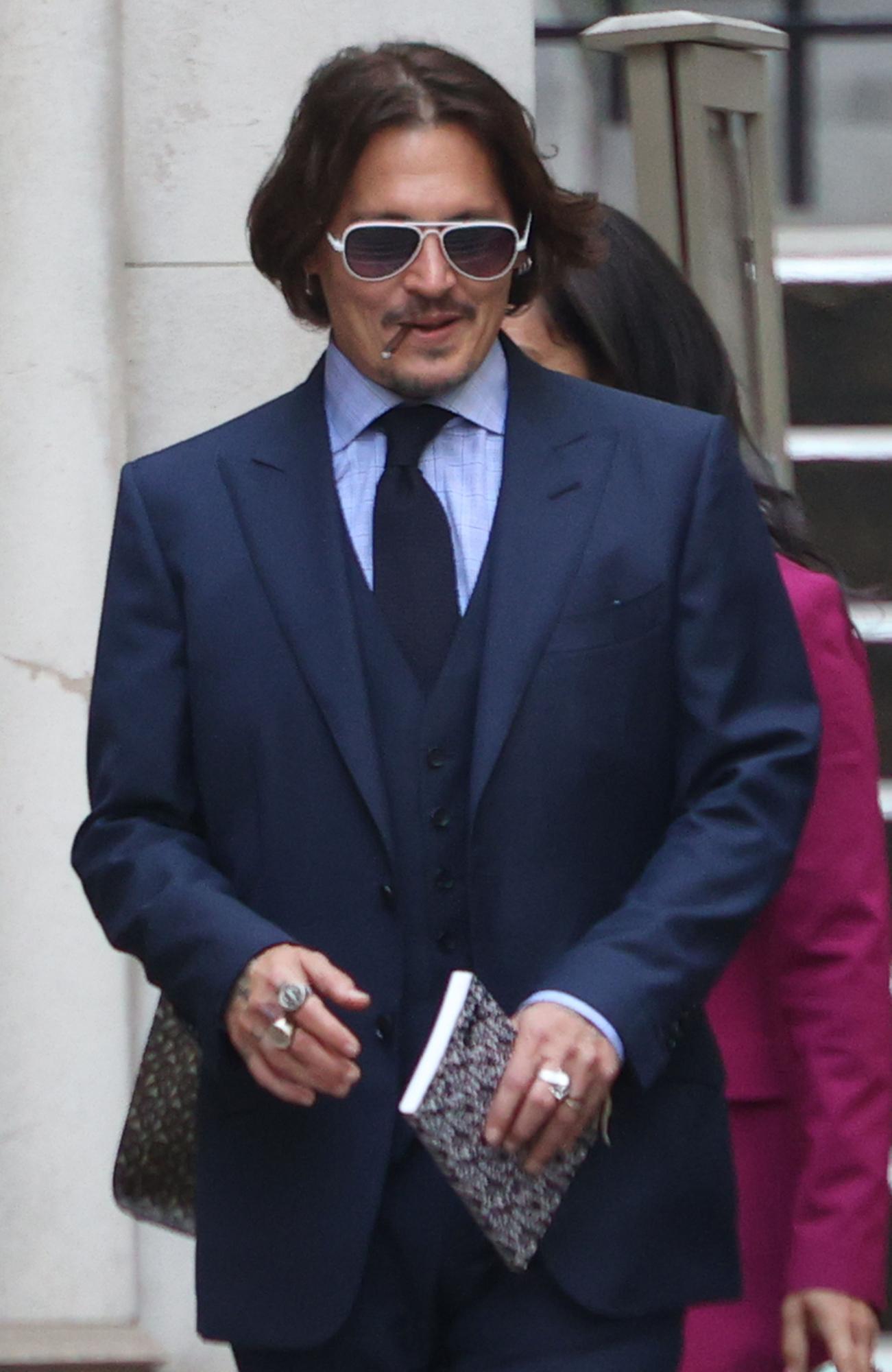 Johnny Depp Lied