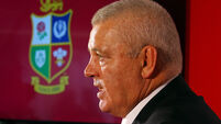 British and Irish Lions Coach Announcement - Standard Life House