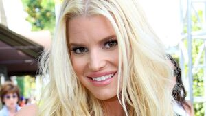 Jessica Simpson marks end of her 30s by posing in 14-year-old jeans