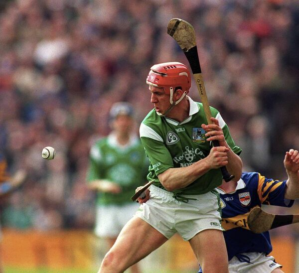 Ollie Moran during the 2000 Church & General National Hurling League Division 1 semi-final at Semple Stadium. Photo by Damien Eagers/Sportsfile