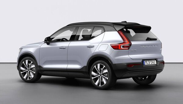 Volvo also cautioned that Covid-19 would weigh on future market demand. Pictured: Volvo XC40 Recharge P8 AWD. File picture.