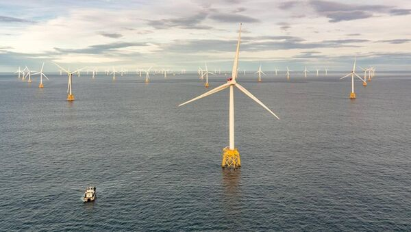 Beatrice Offshore Wind Farm, off the coast of Scotland, a successful model for clean, renewable energy.