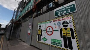 Another Dublin construction site closed           after Covid-19 case confirmed